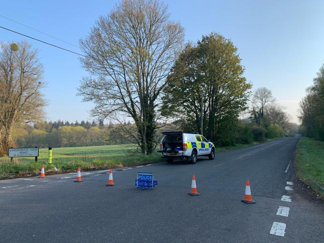 Police respond to criticism of handling of horse and trap racing on A33