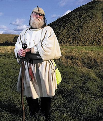 Terry Dobney, Archdruid of Avebury and Keeper of the Stones