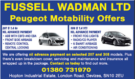 The Wiltshire Gazette and Herald: Fussell Wadman Ltd