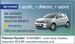 The Wiltshire Gazette and Herald: Platinum Hyundai