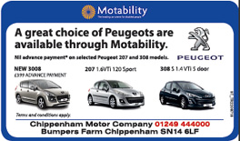 The Wiltshire Gazette and Herald: Chippenham Motor Company Peugeot