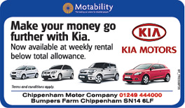 The Wiltshire Gazette and Herald: Chippenham Motor Company Kia
