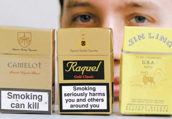 Illegal cigarettes are on sale all over Wiltshire