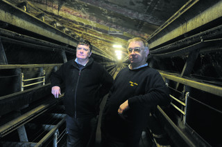 : Robert and John Stiles have given up producing eggs