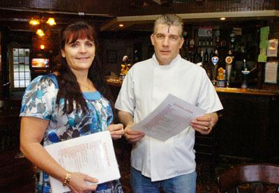 Sue and Keith Morris are planning to revamp both the interior and the exterior of the King's Arms in Hilperton 	(21228)