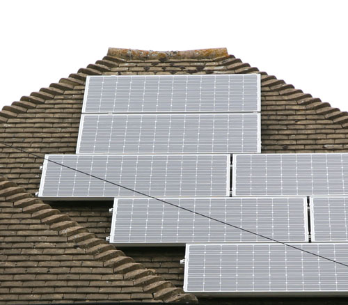 Solar panel proposal at Devizes school units