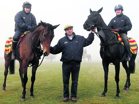 Alan King with Grumeti (left)