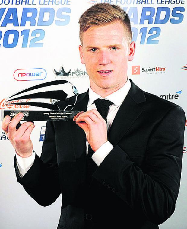 Matt Ritchie was League Two player of the year last season