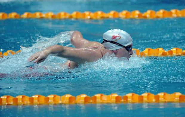Stephanie Millward qualified for tonight's 400m freestyle final