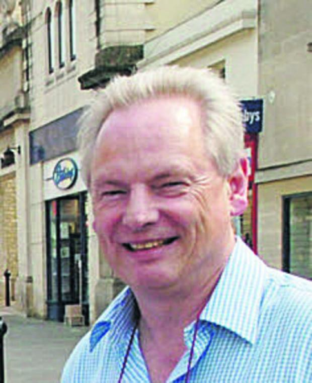 Minister Francis Maude during a visit to Chippenham