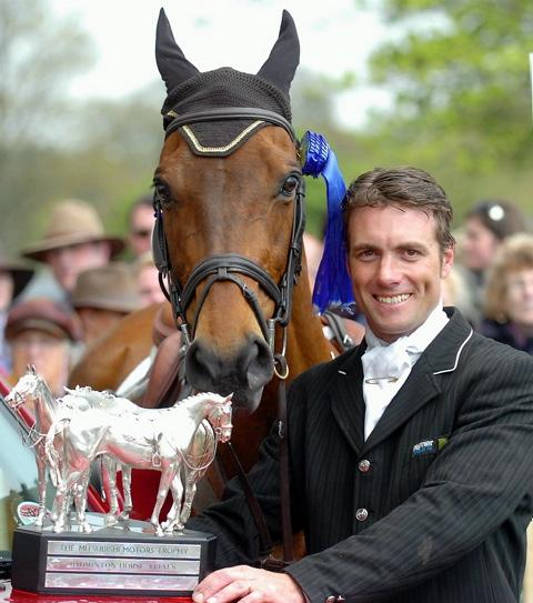 Inonothing and Paul Tapner after their Badminton triumph in 2010