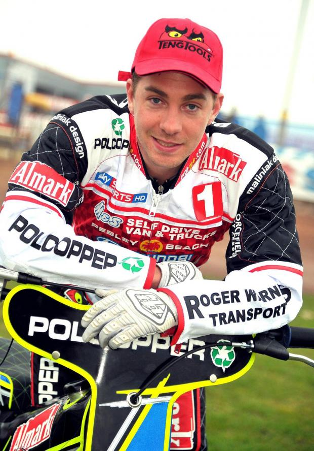 Troy Batchelor scored 14 points for Swindon