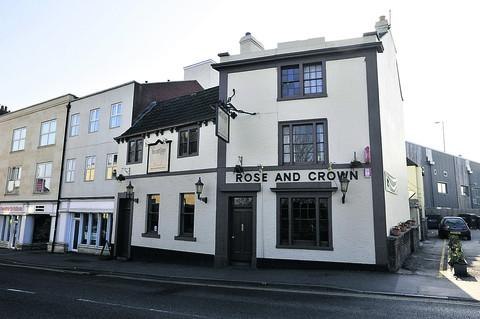 The Rose and Crown is smart and stylish