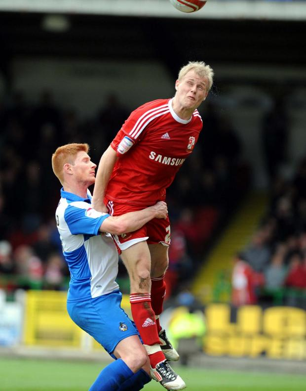 Swindon Town star Jay McEveley