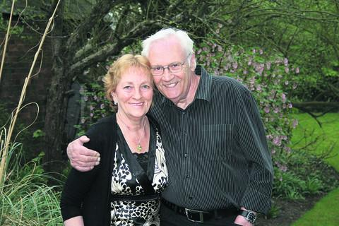 John and Audrey Benham who have celebrated their golden wedding anniversary