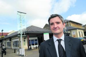 Dominic Moore, director of Borough Parade, Chippenham