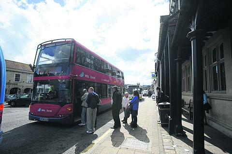 Buses from Marlborough to Swindon often leave passengers having to wait half an hour for their trains, the report found