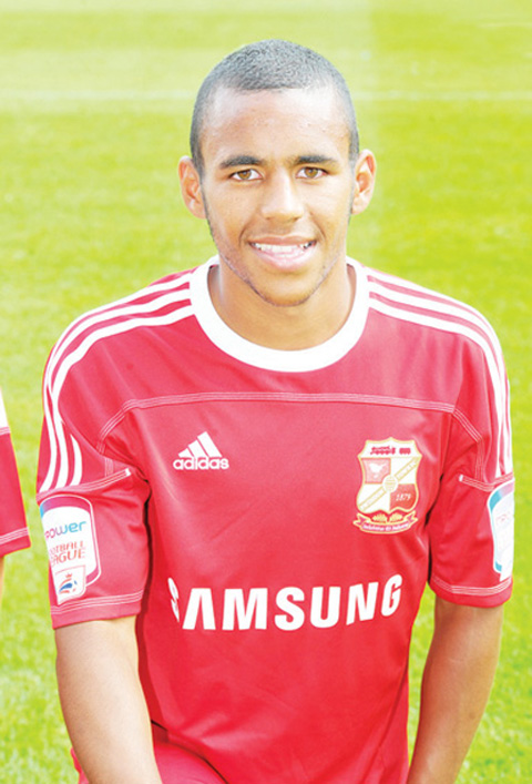 Town's Nathan Thompson