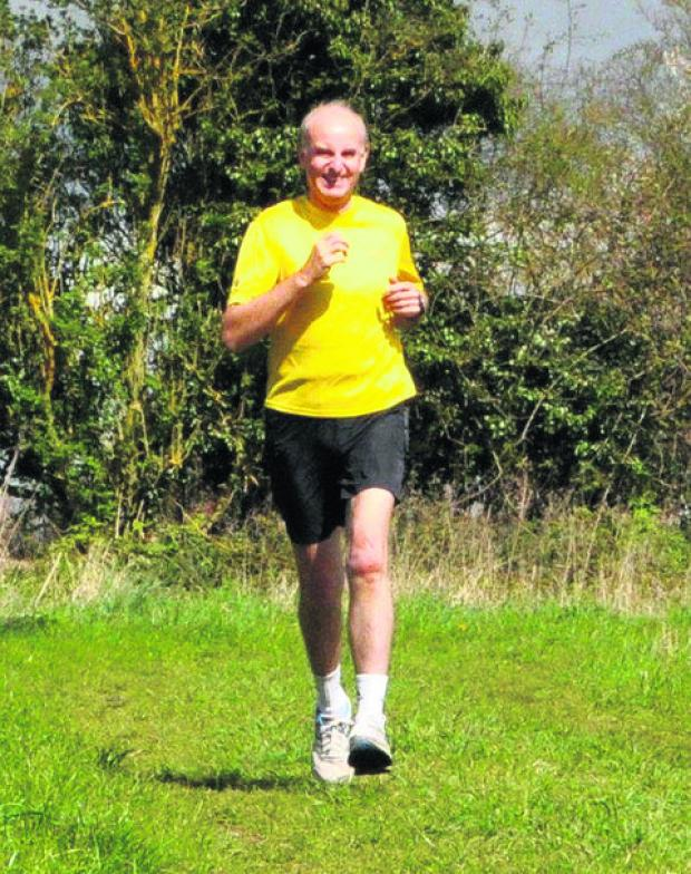 Alan Joslin took part in his 94th marathon on Sunday, his 12th in London
