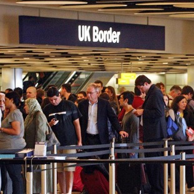 Minister Damian Green said 80 extra border control staff would begin work at Heathrow this month