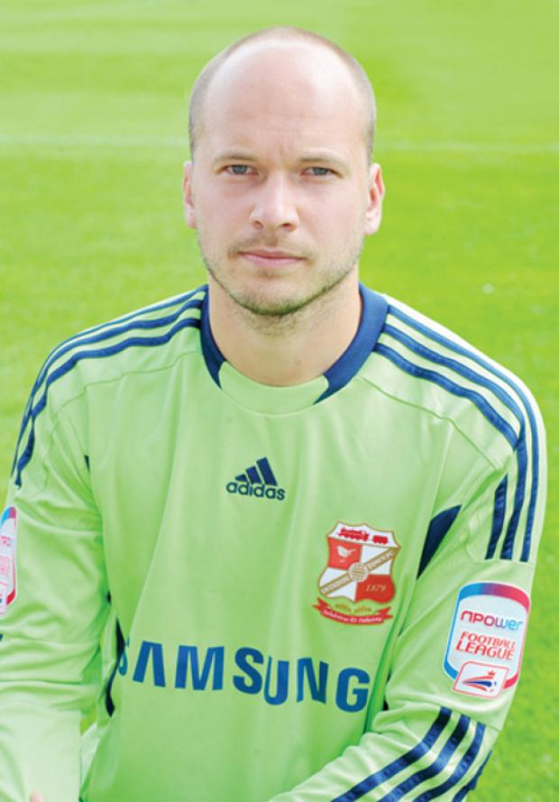 The Wiltshire Gazette and Herald: Phil Smith, who has been released by Swindon Town