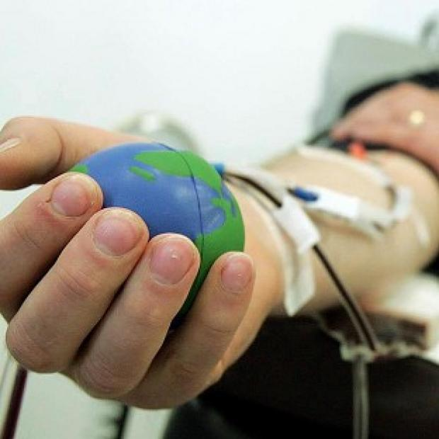 Blood service's drive to boost donations in run up Olympics