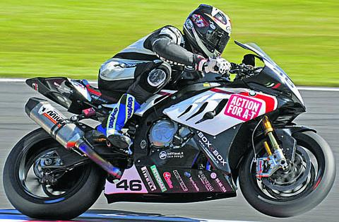 Tommy Bridewell at Snetterton (Picture by Superbike Snapper)