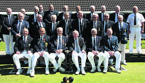 Chippenham Town, pictured at their match with Bowls Wiltshire