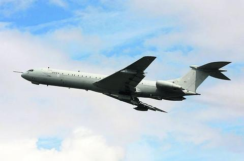 An RAF VC-10 in action - the Royal International Air Tattoo is expected to be the last chance to see one flying