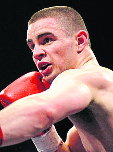 Joe Hughes won his first ten-round fight last night