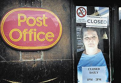 ANGRY: Emma Hands was furious that Post Office bosses did not tell her Lacock had lost its fight