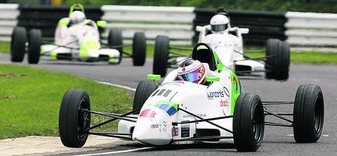 Bratton's Ben Norton is closing in on the Formula Ford 1600 championship
