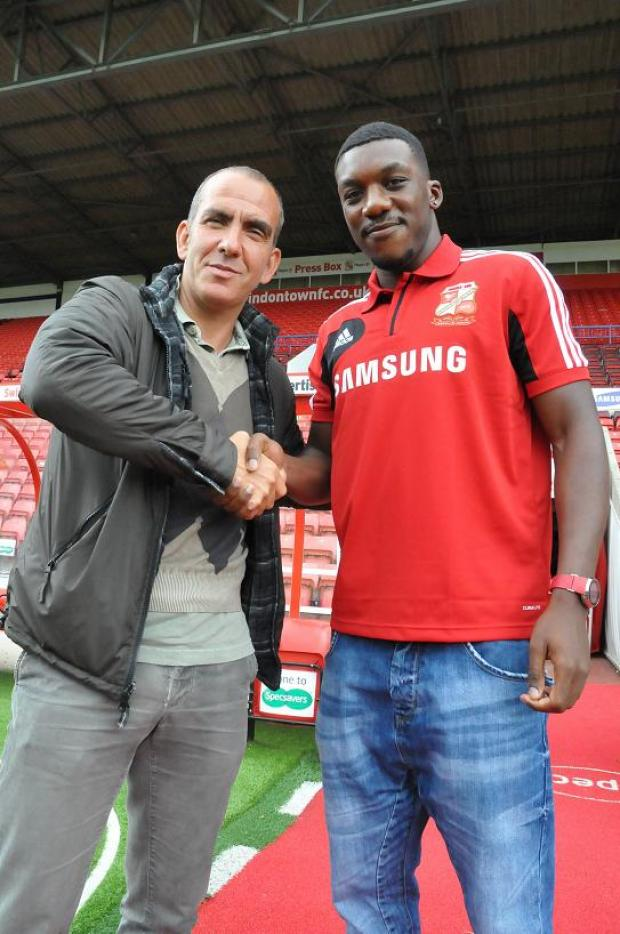 Paolo Di Canio welcomes Troy Archibald-Henville to Swindon