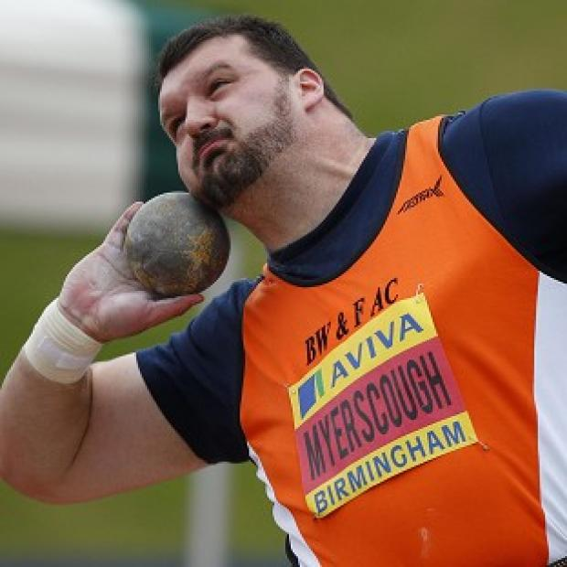 Carl Myerscough failed to make the shot put final at the European Championships