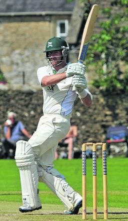 Jayden Levitt scored 71 in Wiltshire's second innings