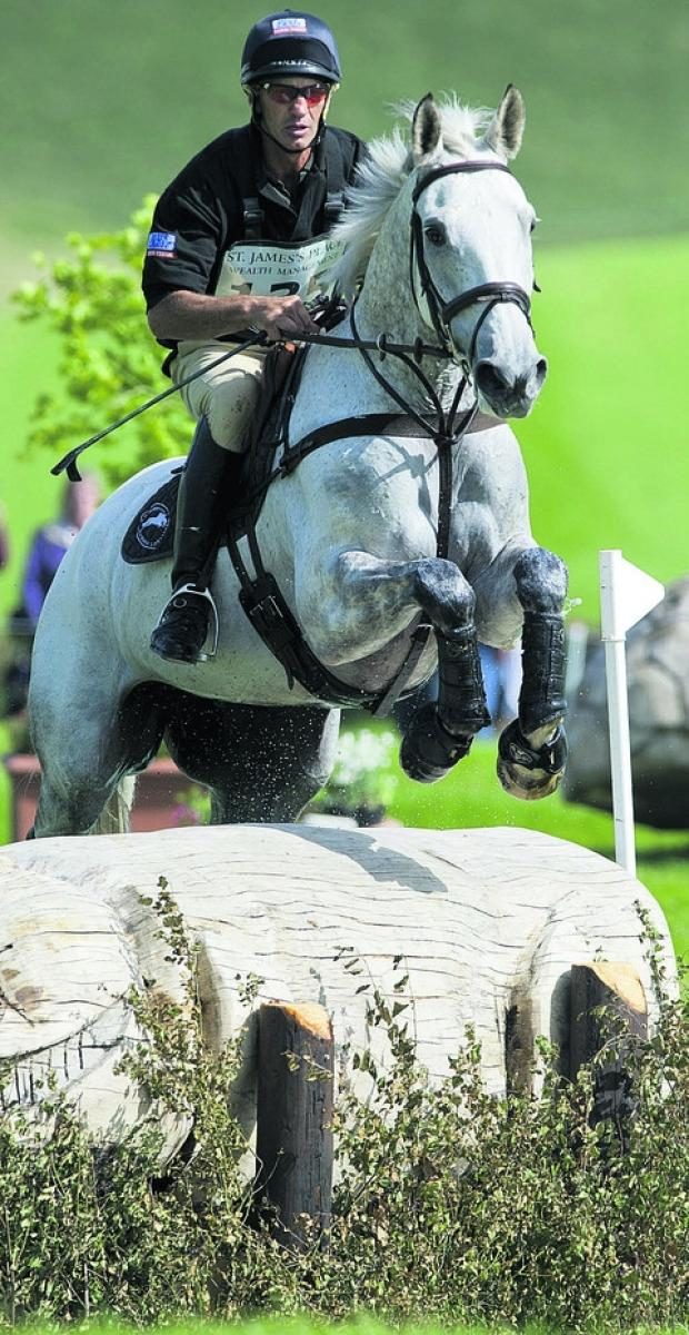 Andrew Nicholson and Avebury at Barbury