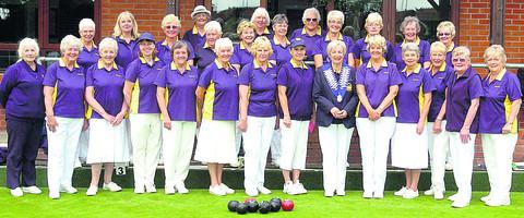Wiltshire Ladies, pictured before their South West Counties League win over Worcestershire at Devizes