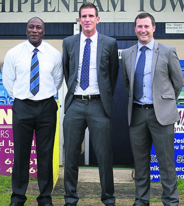 Chippenham Town stalwart Adie Mings (left) is set for a new role a Chelsea