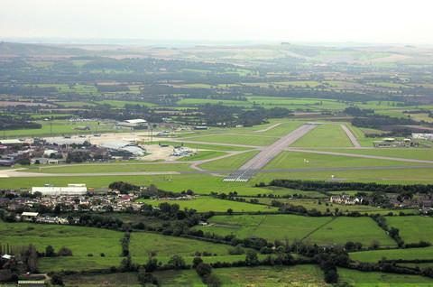 The former RAF base at Lyneham
