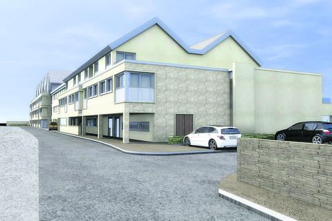 An artist's impression of the proposed retirement homes