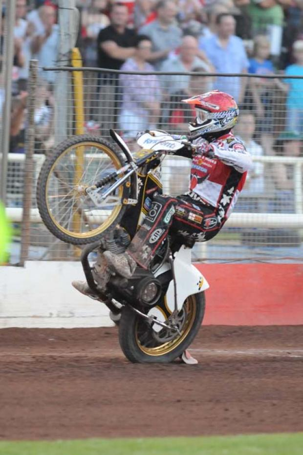 Swindon Robins' Hans Andersen