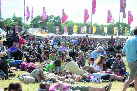 The Wiltshire Gazette and Herald: Last year's WOMAD
