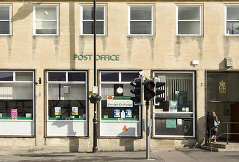 Chippenham post office in the Market Place