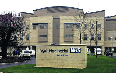 The Wiltshire Gazette and Herald: The Royal United Hospital, Bath