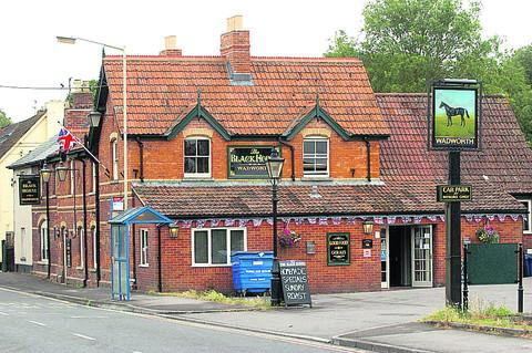 The Black Horse has undergone renovations after a major fire