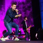 The Wiltshire Gazette and Herald: Blur perform at Hyde Park