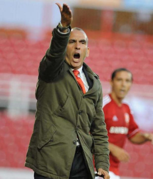 Town boss Paolo Di Canio last night