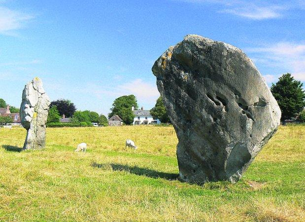 Second to Mexico: The Avebury stones
