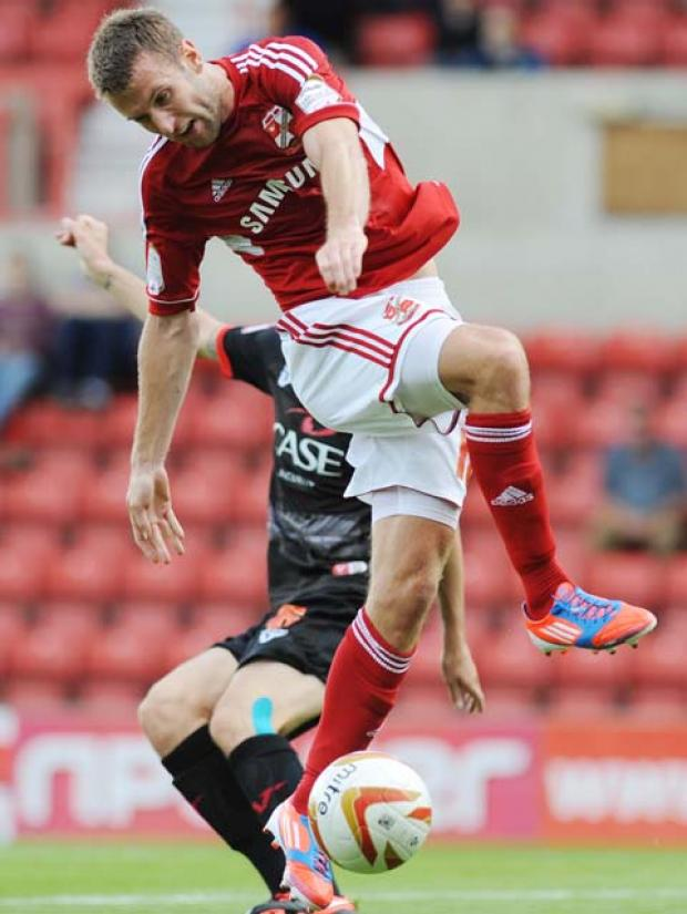Swindon Town's Andy Williams
