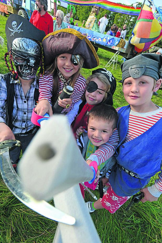 Young pirates captured hearts at the Aldbourne Carnival